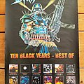 Sodom ' Ten Black Years - Best Of  ' Promotional Poster + Ad Other Collectable