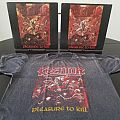 Kreator ' Pleasure To Kill ' Vintage T-Shirt