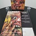 Demolition Hammer ' Tortured Existence ' Original Vinyl LP+ Promotional / Venue Poster + Ads