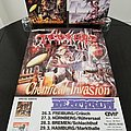 Tankard ' Chemical Invasion '  TOUR Poster Other Collectable