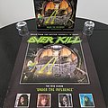 Over Kill ' Under the Influence ' Original Vinyl  LP + Promotional Poster + Ads Other Collectable