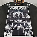 Over Kill ' Feel The Fire ' Original Vinyl LP + Promotional / Tour Poster + Ads