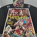 Manowar ' Hail To England ' Original Vinyl LP + Tour Poster Other Collectable