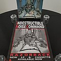 I.N.C. ( Indestructible Noise Command ) ' Razorback ' Original Vinyl LP + Promotional Poster Other Collectable