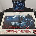 Sodom ' Tapping The Vein ' Original Vinyl LP + Promotional Poster + Tour Poster TShirt or Longsleeve