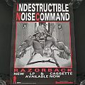 I.N.C. ( Indestructible Noise Command ) ' Razorback ' Original Vinyl LP + Promo Poster Other Collectable