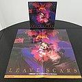 Dark Angel ' Leave Scars ' Original Vinyl LP + Promotional Poster + Ads Other Collectable