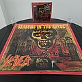 Slayer ' Seasons In The Abyss ' Original Promotional Vinyl L.P. + Promotional Poster Other Collectable