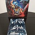 Sodom - TShirt or Longsleeve - Sodom ' Code Red ' Re-Issue Vinyl  LP ( Drakkar )  + Promotional Ads