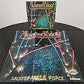 Agent Steel - Other Collectable - Agent Steel ' Unstoppable Force ' Original Vinyl LP + Promotional Poster + Ads