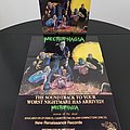 Necrophagia - Other Collectable - Necrophagia ' Season Of The Dead ' Original Vinyl LP + Promotional Poster + Ads