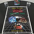 Combat Records Original VHS Recording  for ' The Ultimate Revenge ' + Original Promotional Poster Other Collectable