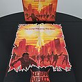 Nuclear Assault - Other Collectable - Nuclear Assault ' Game Over ' Original Vinyl LP + Promotional Poster + Ads