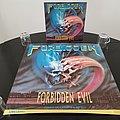 Forbidden - Other Collectable - Forbidden ' Forbidden Evil ' Original Vinyl LP + Promotional Poster