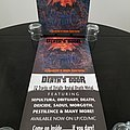 Various Artists - Other Collectable - ' At Death's Door ' Original Vinyl LP + Promotional Poster + Ads
