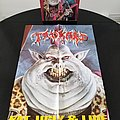 Tankard ' Fat, Ugly & Live ' Original Vinyl L.P. + Promotional Poster Other Collectable