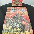 Sodom - TShirt or Longsleeve - Sodom ' M-16 ' Vinyl LP ( Steamhammer Reissue ) + Promotional / Tour Poster