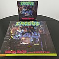 Exodus - Other Collectable - Exodus ' Fabulous Disaster ' Original Vinyl L.P. + Promotional Poster + Ads