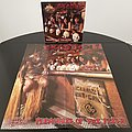 Exodus - Other Collectable - Exodus ' Pleasures Of The Flesh ' Original Vinyl L.P. + Promotional Poster + Ads