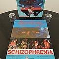 Sepultura Autographed ' Schizophrenic ' Tour Shirt  + Original Vinyl LP + Promotional Poster + Letter From Max Cavalera