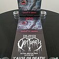 Obituary ' Cause Of Death ' Original Vinyl LP + Promotional Posters + Ads Other Collectable