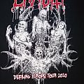 Lividity - TShirt or Longsleeve - Lividity - Defiling Europe Tour 2010