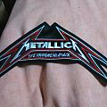 Metallica back shaped logo patch