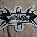 Vektor back shaped logo patch