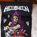Helloween walls of Jericho embroidered back patch
