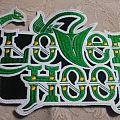 Cloven Hoof back shaped logo patch