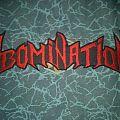 Abomination back shaped logo patch