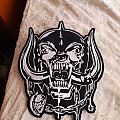 Motorhead snaggletooth back patch