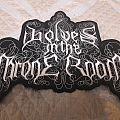 Wolves in the throne room back Shaped logo patch