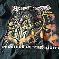 Vicious Rumors soldiers of the night t-shirt L size