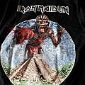 Iron Maiden Mexican tour t-shirt