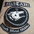 Watain Back patch