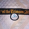 Lords of the crimson alliance back shaped logo patch