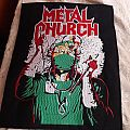 Metal Church fake healer back patch