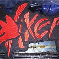 Vixen back shaped logo patch