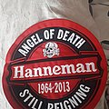 Slayer hanneman back patch