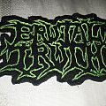 Brutal Truth logo patch