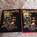 Megadeth woven patch