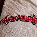 Airbourne back Shaped logo patch