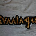 Running Wild - Patch - Running Wild back logo patch