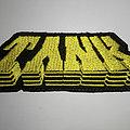Tank - Patch - Tank back logo patch