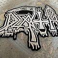 Death - Patch - Death scream back logo patch