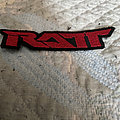 Ratt - Patch - Ratt back logo patch