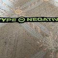 Type O Negative - Patch - Type o negative back logo patch