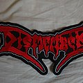 Dismember - Patch - Dismember back logo patch
