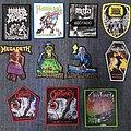 Morbid Angel - Patch - Morbid Angel, Manowar, Napalm Death, Nifelheim, Megadeth, Obituary